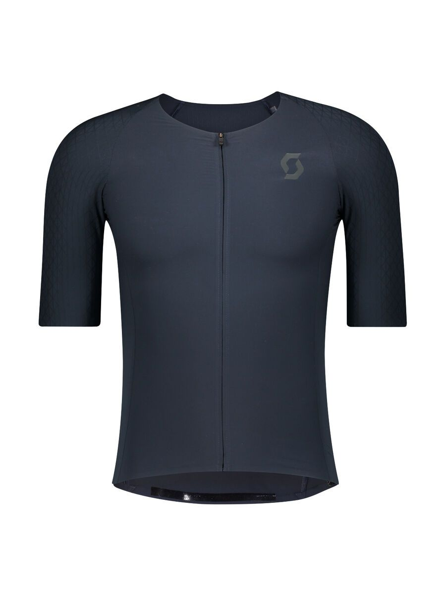 Scott RC Premium Kinetech S/SL Men's Shirt midnight blue/dark grey L 2752706853008