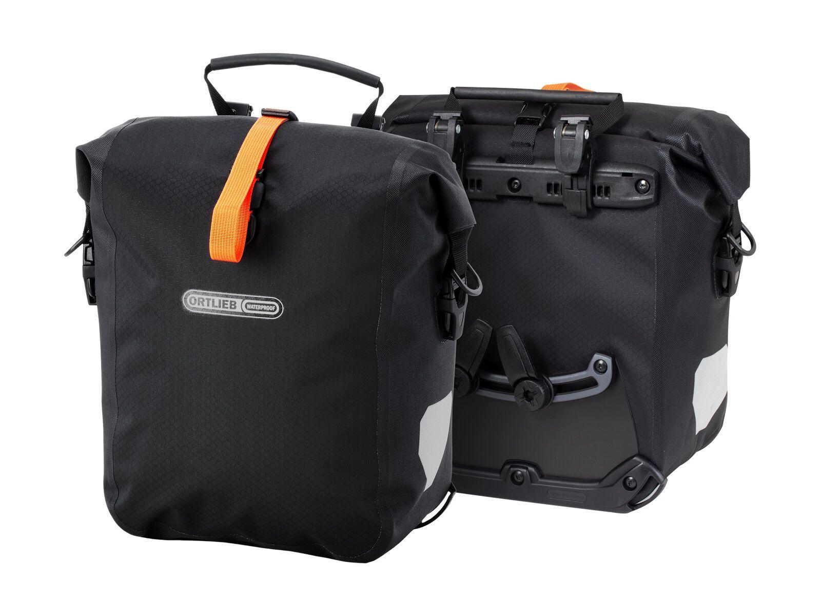 Ortlieb Gravel-Pack (Paar), black matt - Fahrradtasche F9982