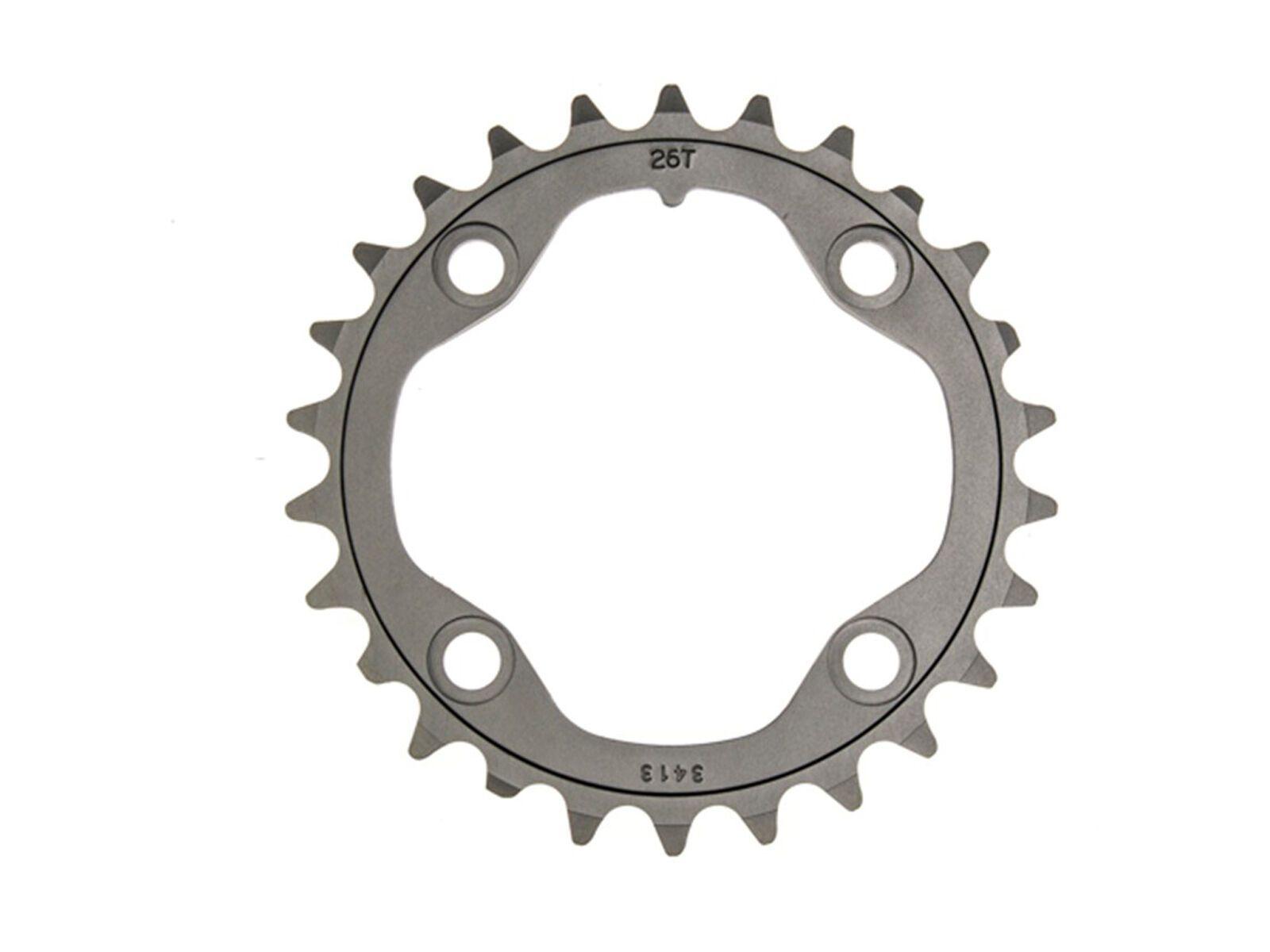 SRAM XX Kettenblatt - 2x10, grau, Größe 39 Z // LK 120 // Cannondale C-Pin 400060117