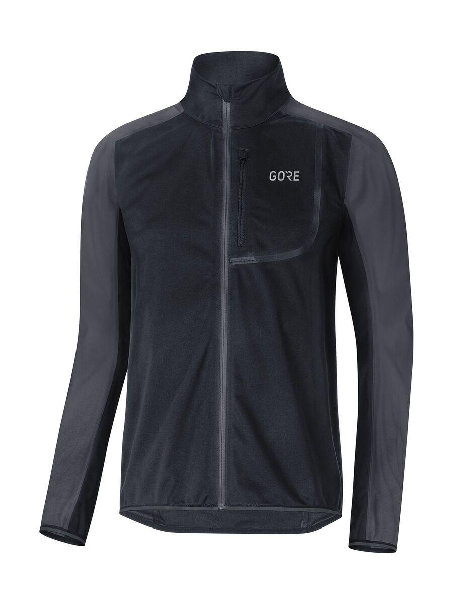 Gore Wear C3 Gore Windstopper Jacke, black/terra grey - Radjacke, Größe S 100274990R03