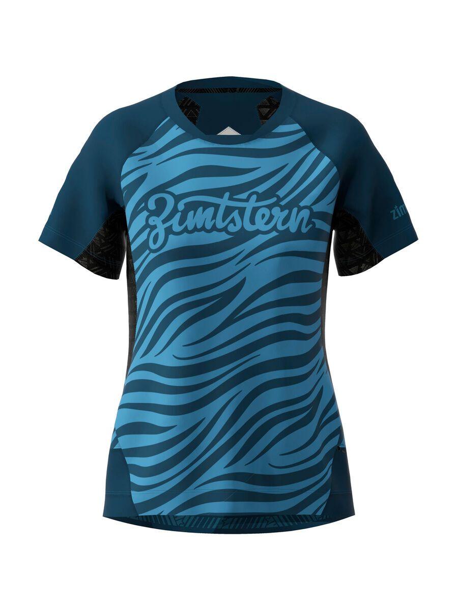 Zimtstern TechZonez Shirt SS Women heritage blue/french navy M W10043-3016-03