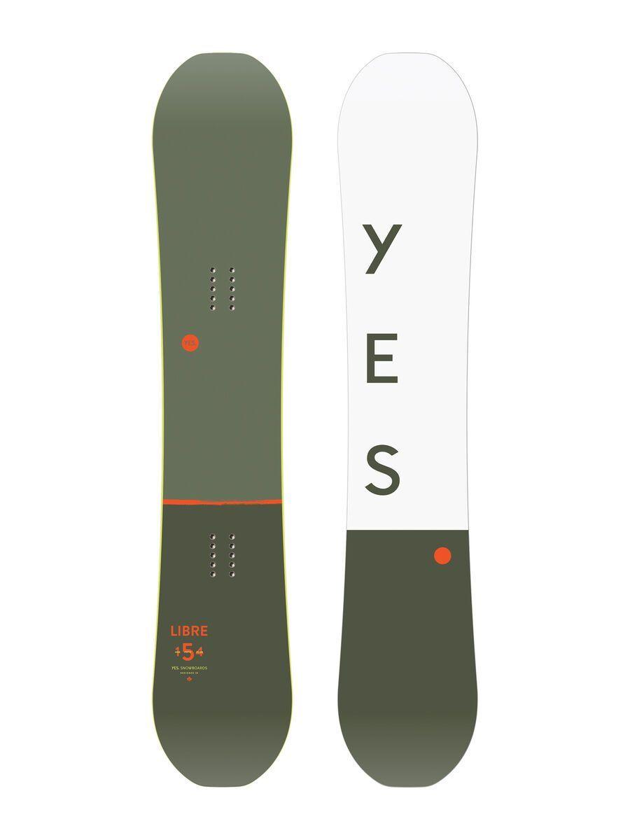 Yes Libre Wide 2020 - Snowboard, Größe 156 cm YES-19-LB-156
