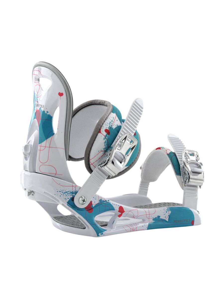 Elfgen Freestyle Girl 2012, white - Snowboardbindung 501199