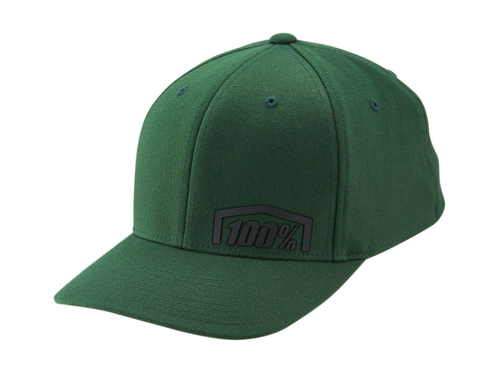 100% Revolt X-Fit FlexFit Hat, fatigue - Cap, Größe S/M HU-CAP-0059-S-M-2005-Fatigue