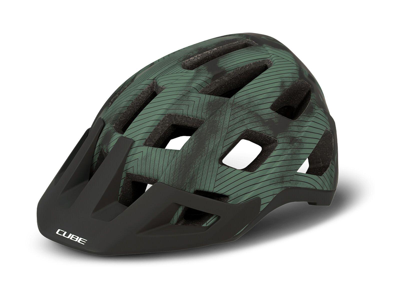 Cube Helm Badger green M // 56-59 cm 162430287