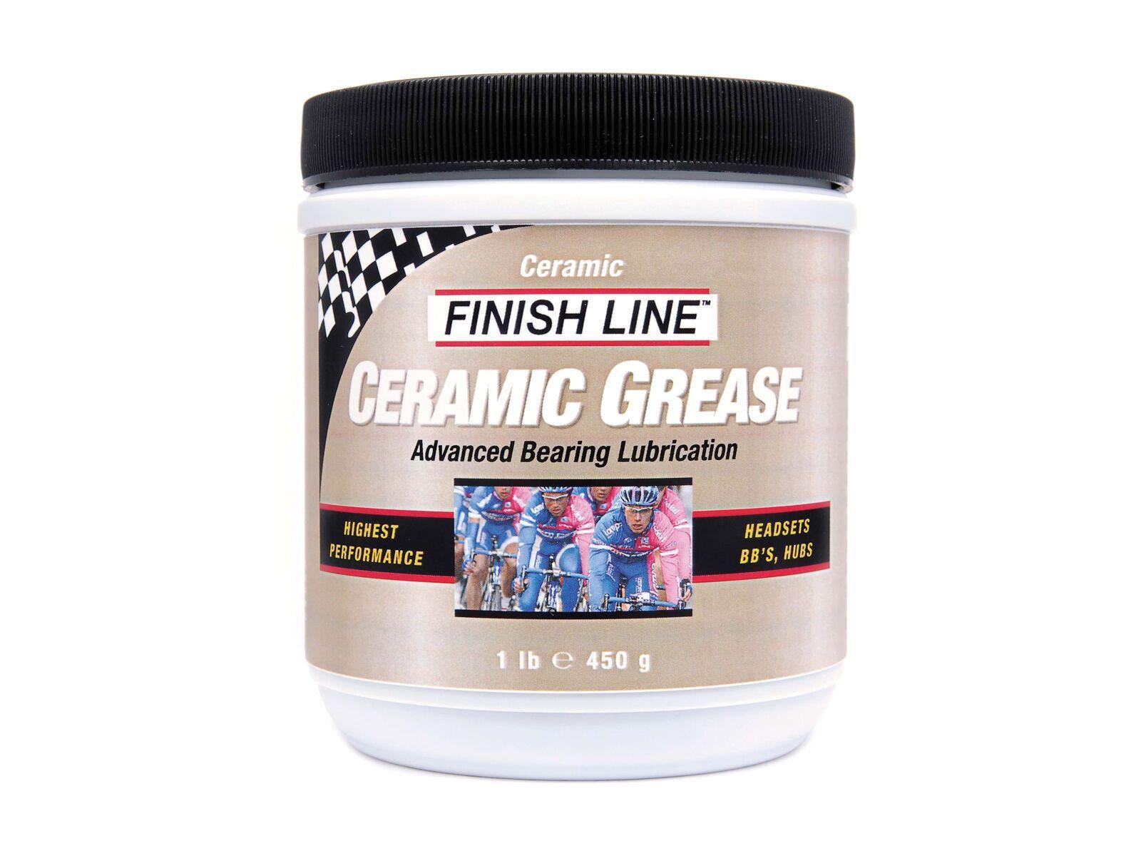Finish Line Ceramic Grease / Keramik Fett - 450 g Dose 4002046
