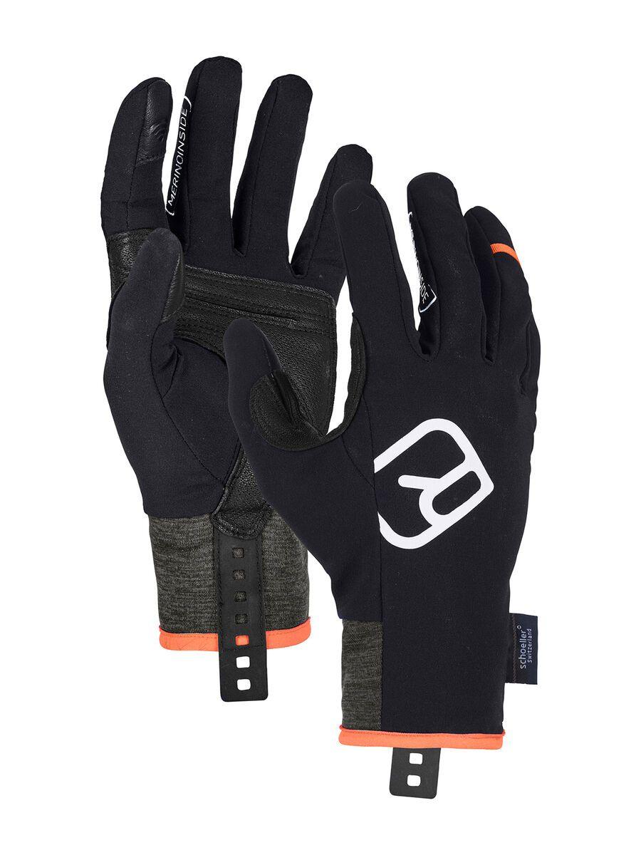 Ortovox Tour Light Glove M, black raven - Skihandschuhe, Größe S 5637600001