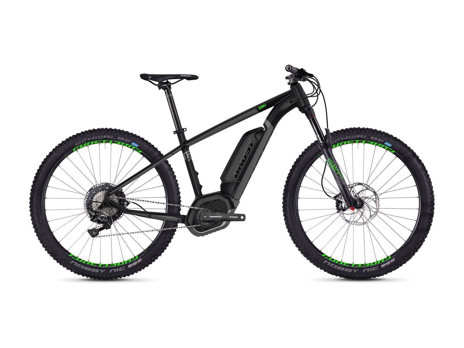Ghost Hybride Teru B7.7+ AL, black/gray/neon green   Bild 1