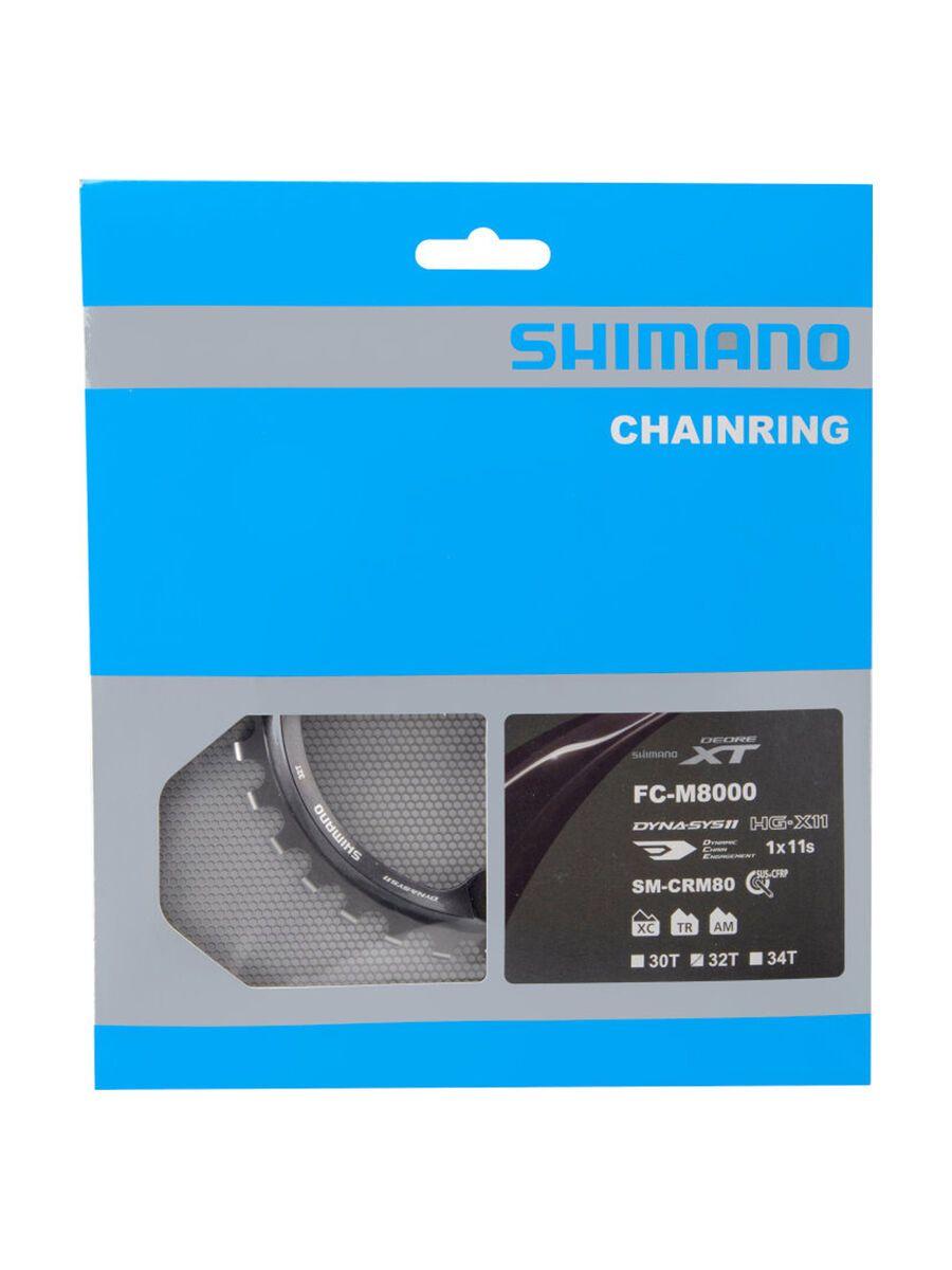 Shimano Deore XT FC-M8000 Kettenblätter - 1x, Größe 32 Z I-SMCRM81A2