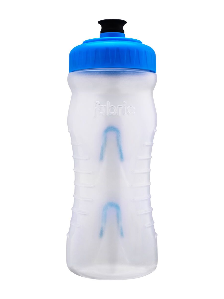 Fabric Cageless Waterbottle 600 ml, clear/blue - Trinkflasche FP4016U0222