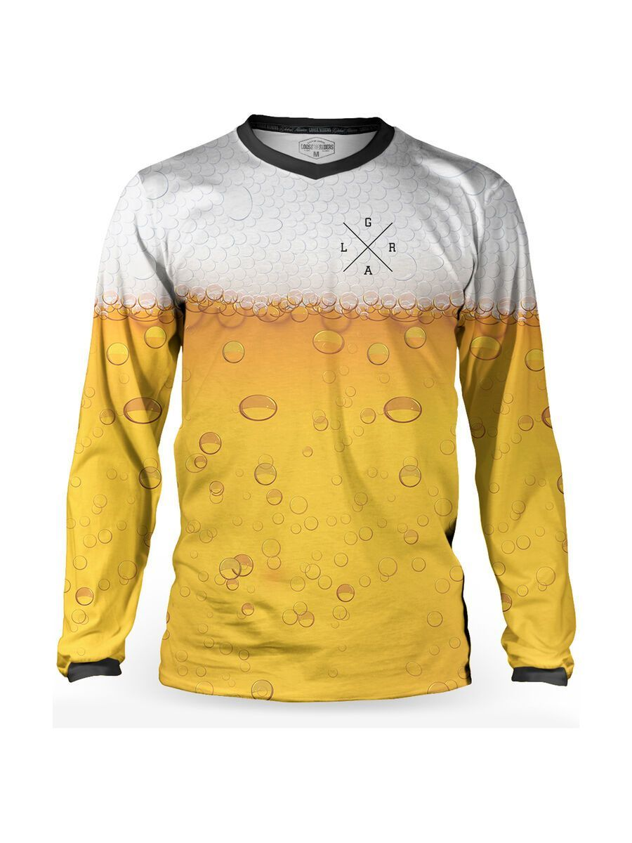 Loose Riders 420 Jersey LS Cheers multi color L LR-MLS-00074-NCL-103