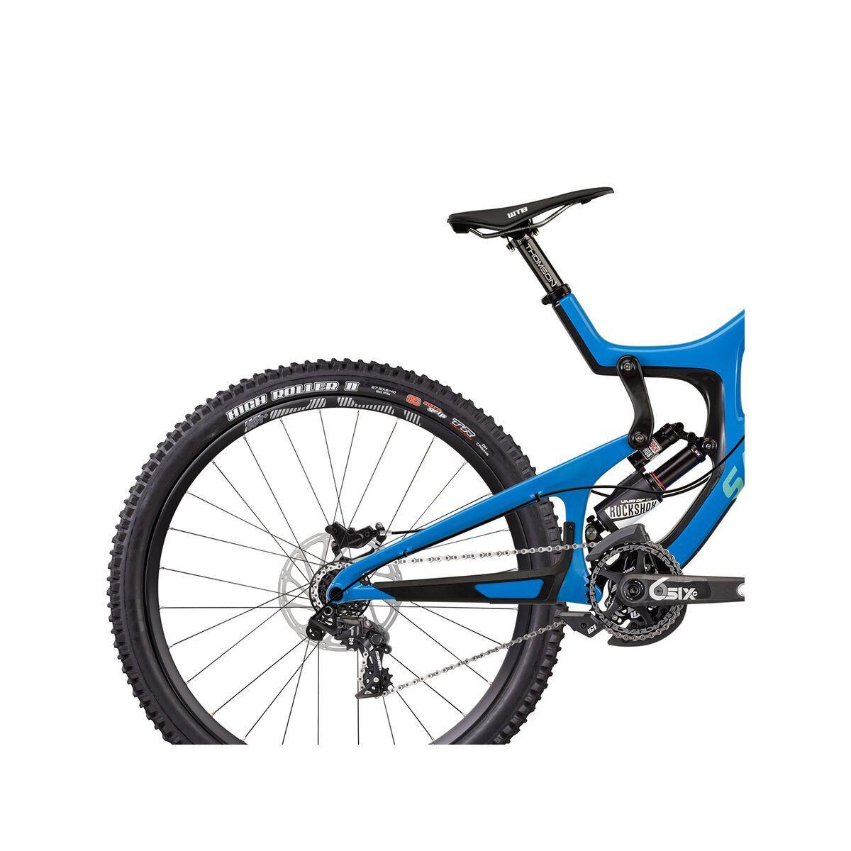 Santa Cruz V10 CC X01 RockShox Vivid Air, blue/mint | Bild 6