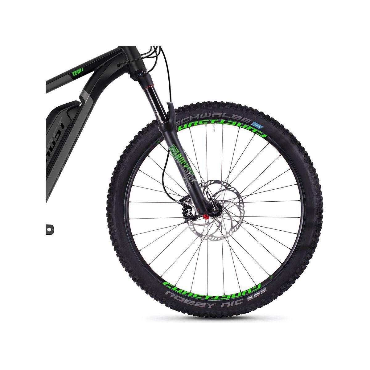 Ghost Hybride Teru B7.7+ AL, black/gray/neon green   Bild 2