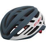 Giro Agilis MIPS, matte portaro grey/white/red - Fahrradhelm