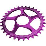 Race Face Direct Mount Cinch Narrow Wide - 10/11/12-fach purple