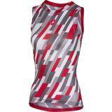 Castelli Pro Mesh W Sleeveless, white/red/anthracite - Unterhemd