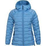 Peak Performance W Argon Light Hood Jacket blue elevation
