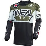 ONeal Element Jersey Warhawk black/white/green