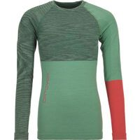Ortovox 230 Merino Competition Long Sleeve W, green isar blend - Unterhemd