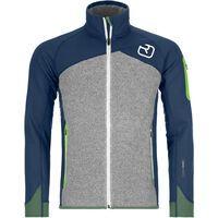 Ortovox Merino Fleece Plus Jacket M, night blue - Fleecejacke