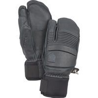 Hestra Leather Fall Line 3 Finger, grau - Skihandschuhe