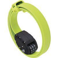 Otto DesignWorks Ottolock Cinch Lock - 76 cm, flash green - Fahrradschloss