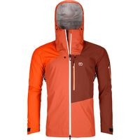 Ortovox 3L Merino Naked Sheep Ortler Jacket M, desert orange - Skijacke