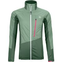 Ortovox Westalpen Swisswool Hybrid Jacket W, green forest - Thermojacke