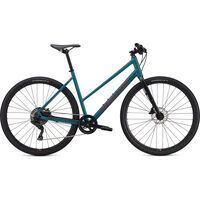 Specialized Sirrus X 2.0 Step-Through dusty turquoise/rocket red/black reflective 2021