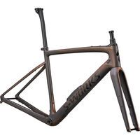 Specialized S-Works Diverge Frameset 2021, carbon/color run pearl/chrome
