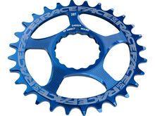 Race Face Direct Mount Cinch Narrow Wide - 10/11/12-fach blue