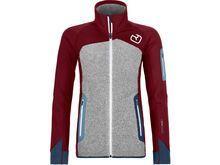 Ortovox Merino Fleece Plus Jacket W, dark blood - Fleecejacke