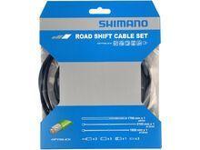Shimano Schaltzug-Set Road Edelstahl, Optislick beschichtet - 2x 2.100 mm