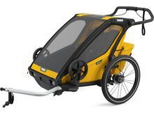 Thule Chariot Sport 2, spectra yellow on black