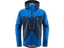 Haglöfs Spitz Jacket Men, tarn blue/storm blue - Skijacke