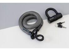 Tex-Lock Tex-Lock Eyelet S 80 cm inkl. U-Lock grau