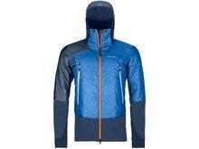 Ortovox Swisswool Light Tec Piz Palü Jacket M, safety blue - Thermojacke