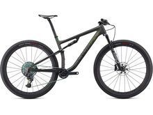 Specialized S-Works Epic 2021, carbon/silver - green chameleon - Mountainbike