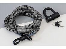 Tex-Lock Tex-Lock Eyelet L 160 cm inkl. U-Lock grau
