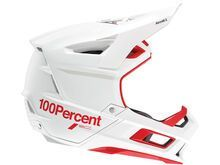 100% Aircraft 2 Carbon red/white
