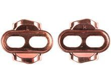 Crank Brothers Easy Release Premium Cleat Kit +/- 6°, rose