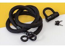 Tex-Lock Tex-Lock Eyelet L 160 cm inkl. U-Lock schwarz