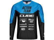 Cube Edge Rundhalstrikot langarm X Actionteam