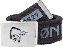 Norrona /29 viking head web clip Belt caviar black