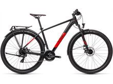 Cube Aim Allroad 27.5 2021, black´n´red - Mountainbike