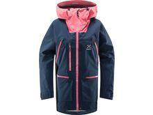 Haglöfs Vassi GTX Pro Jacket Women, tarn blue/tulip pink - Skijacke