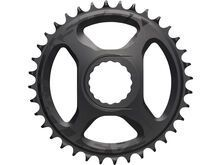 Easton Direct Mount Chainring - 1x - FLT Top - 12-fach matte black ano