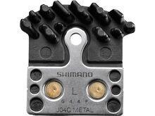 Shimano J04C Metall Scheibenbremsbelag Ice-Tech mit Kühlrippen