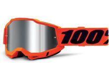 100% Accuri - Silver Flash neon orange