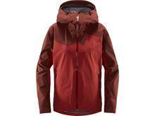 Haglöfs Stipe Jacket Women brick red/maroon red